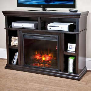 Chimneyfree Cambridge Electric Fireplace Media Center In Espresso - 23Mm6171-E451