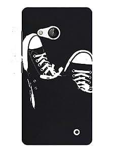 TREECASE Designer Printed Hard Back Case Cover For Microsoft Lumia 550