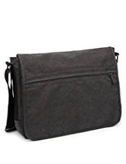 Pure Cotton Adjustable Strap Messenger Bag
