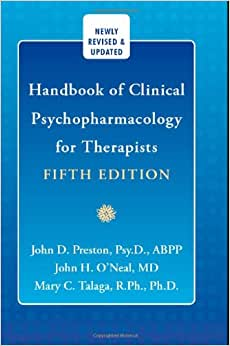 handbook of clinical psychopharmacology for therapists 8th edition