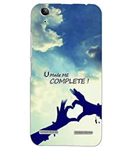 PrintDhaba QUOTE D-7057 Back Case Cover for LENOVO VIBE K5 (Multi-Coloured)