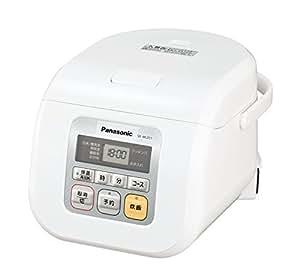 パナソニック マイコン電子ジャー炊飯器 3合 ホワイト SR-ML051-W