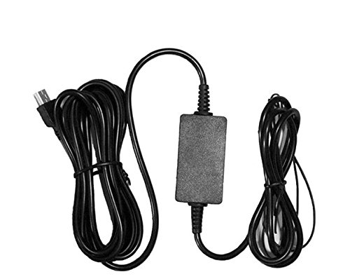 Compact 5V 2.1 A Mini USB Direct Hardwire Car Charger Cable Kit for DVR Dash Cam Vehicle Camera Recorder (5v Mini Usb Direct Hardwire compare prices)
