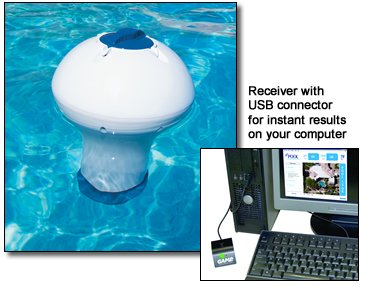 Epool Wireless Water Cehmistry Monitoring System # Na2410Dx front-42499