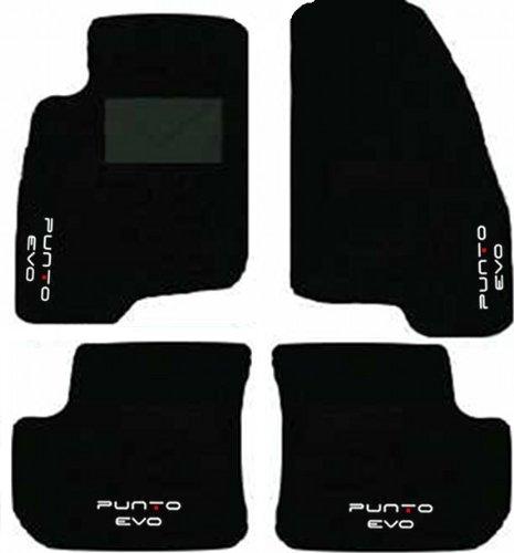 tapis-de-sol-pour-fiat-punto-evo-annee-de-construction-2009-a-2012-kit-complet-sur-mesure-avec-brode