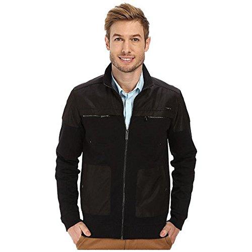 (カルバンクライン) Calvin Klein メンズ アウター ジャケット Long Sleeve Full Zip Solid Sweatshirt 並行輸入品
