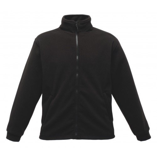 Regatta RG135 Men's Browning Lined Anti Pill Symmetry Fleece Jacket, Large, Black
