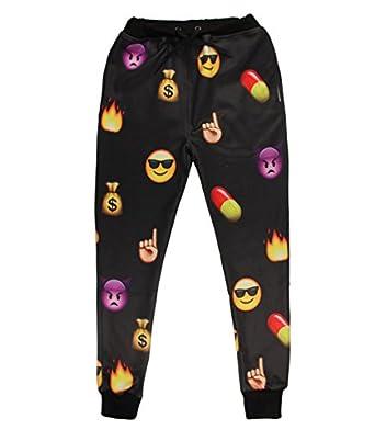 Joggers Sweatpants Sportswear Trousers Swag jogging (XL): Clothing