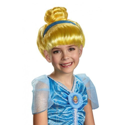 Disney Princess Girls Blonde Cinderella Wig