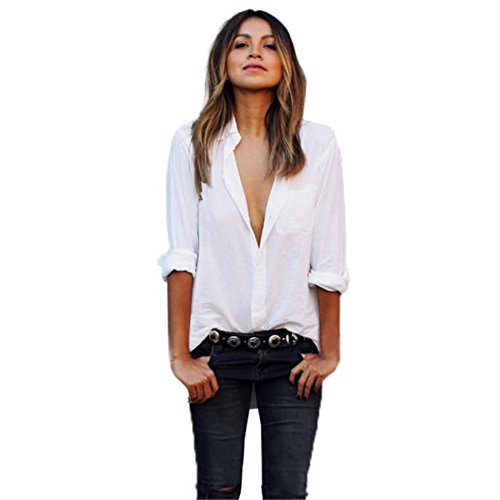 shirtfortan-women-sexy-blouse-long-sleeve-shirt-pocket-shirts-v-neck-tops-medium