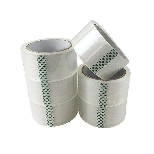 TASOON-6-Roll-Adhesive-Packing-Tape-Packaging-Supplies-188-x-546Yards-Ultra-Clear-Thick-45Mil