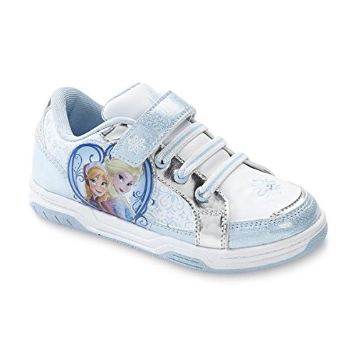Disney Frozen Toddler/youth Girls Sneaker Court Anna & Elsa