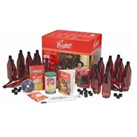 Cooper's Microbrewery Kit. How to make homemade beer, how to make home beer, home brewing, beer brewing
