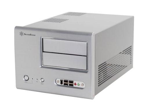Silverstone Sugo Sg01S-F Aluminum/Steel Microatx Desktop Sff Chassis Computer Case - Retail (Silver) front-351611