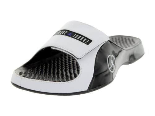 Nike Jordan Men'S Jordan Alpha Float Premier Black/White/Concord Sandal 10 Men Us front-1076851