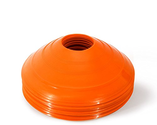 Yes4All Set of 12 ORANGE Cones - ²C7D1Z (Disc Cone Sets compare prices)