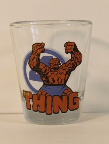 Toon Tumblers Mini-glass: Marvel's Thing from the Fantastic Four