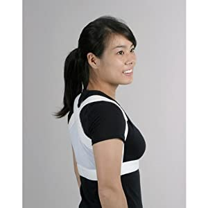 Shoulders Back Posture Support Lite - White - Small - 24 and Smaller Around Ribcage... by EquiFit