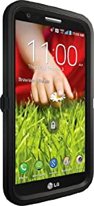 OtterBox Defender Series Case for LG G2 (Verizon)- Retail Packaging - Black