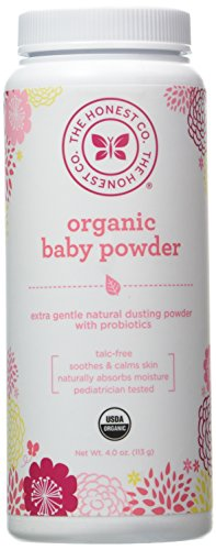 Honest Company Organic Baby Powder (4 oz)