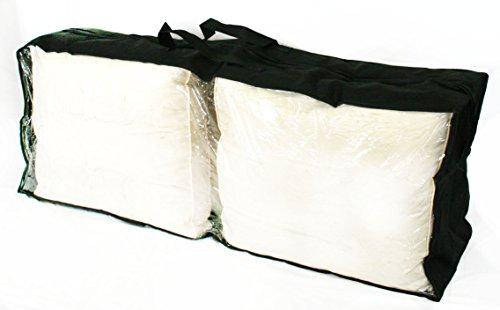 bentley-garden-sac-de-protection-pour-coussin-polyester-exterieur-noir