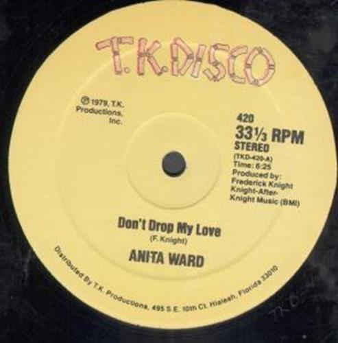 "Don'T Drop My Love 12 Inch (12"" Vinyl Single) Us Tk Disco 1979"