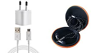 JIYANSHI combo of stylish earphone multicolor in ear. Compatible with Acer Liquid E2433