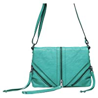 Lucky Brand Tory Crossbody (Turquoise) by Lucky Brand
