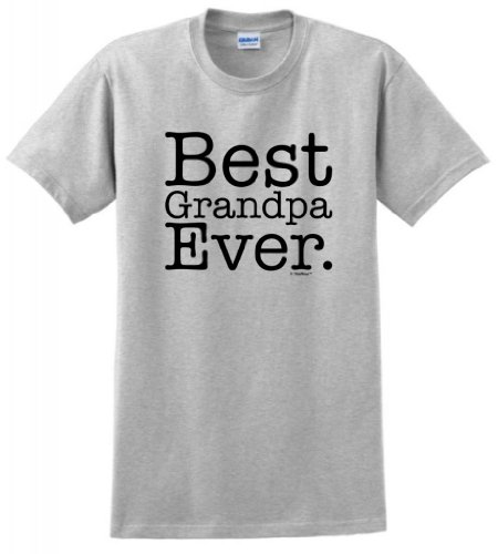 Best Grandpa Ever T-Shirt XL Ash (Cool License Plate Frame For Men compare prices)
