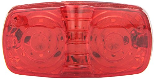Grote G4602-5 Hi Count Red Square-Corner 13-Diode LED Clearance Marker Light