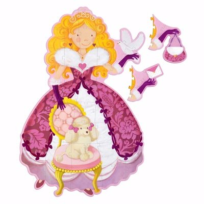 Cheap Fun Djeco Large Floor Puzzle – 42 Inch Tall Princess Barbara (B002SVCSCM)