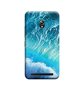 TransMute Premium Printed Back Case Cover With Full protection For Asus Zenfone Go (Designer Case)