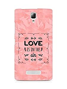 Amez Love is in the Air Back Cover For Lenovo A2010