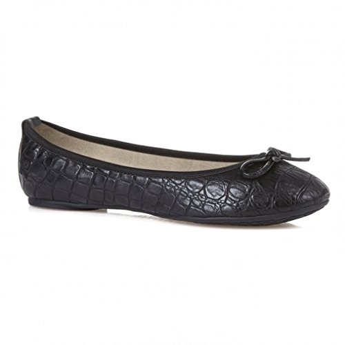 Victoria Black Croc
