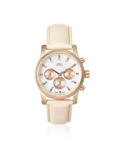 JBW Women's J6270D Mother of Pearl Nude Diamond Watch