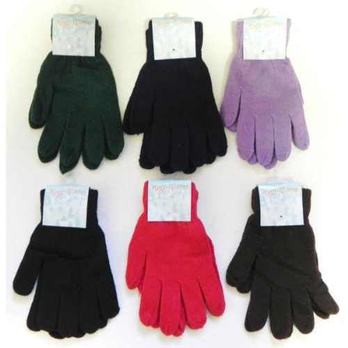 Magic Gloves Assorted Colors - Case Pack 288 SKU-PAS793420