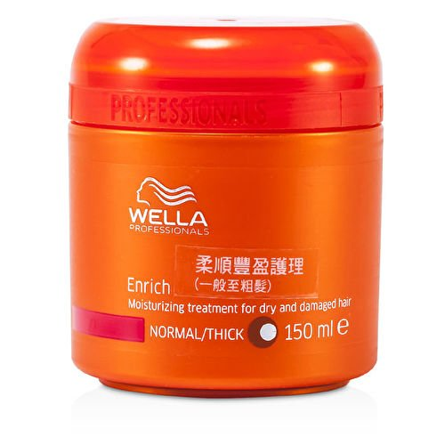 Wella Enrich Moisturizing Treatment for Dry & Damaged Hair (Normal/Thick) 150ml