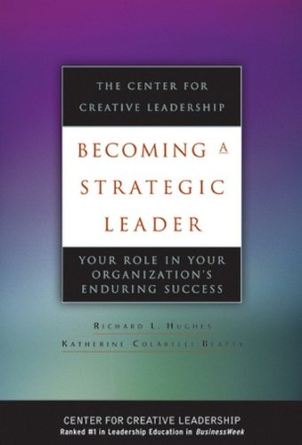 Becoming a Strategic Leader: Your Role in Your...