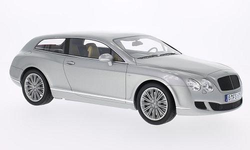 Bentley continental volare stella by Touring, argento , 2010, modello di automobile, modello prefabbricato, BoS-Modelos 1:18 Modello esclusivamente Da Collezione