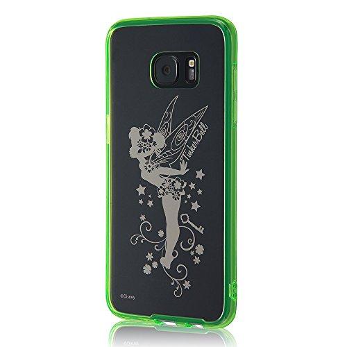 レイ・アウト Galaxy S7 edge ディズニー ハイブリッドケース ティンカーベル RT-DGS7EU/TB