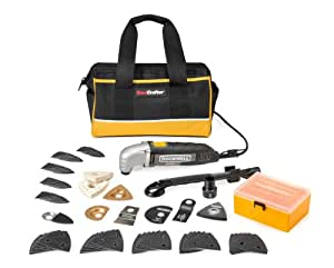 Rockwell RK5102K SoniCrafter Deluxe 72-Piece Oscillating Tool Kit