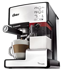 Oster Prima Latte One Touch Automatic Espresso, Cappuccino, Latte, Coffee Maker