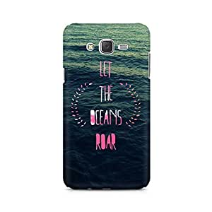Ebby Let the Oceans Roar Premium Printed Case For Samsung J1 2016 Version