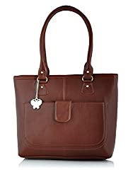 Butterflies Handbag (Tan) (BNS 0532 TN)