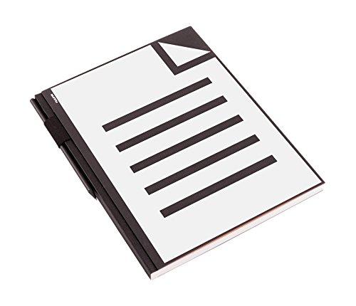 nuuna Design Skizzenbuch Studio XL, Sheet Hardcover, blanko, Stiftschlaufe DIN A4, schwarz