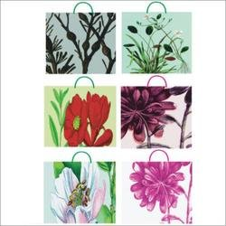 Glitter Gift Bag Medium Assort -Enchanted Garden Case Pack 240