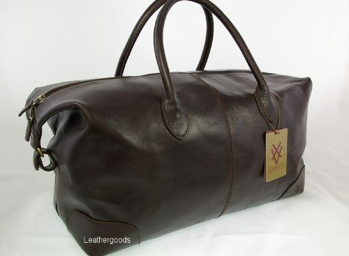 Quindici Holdall Brown Leather- QVB515