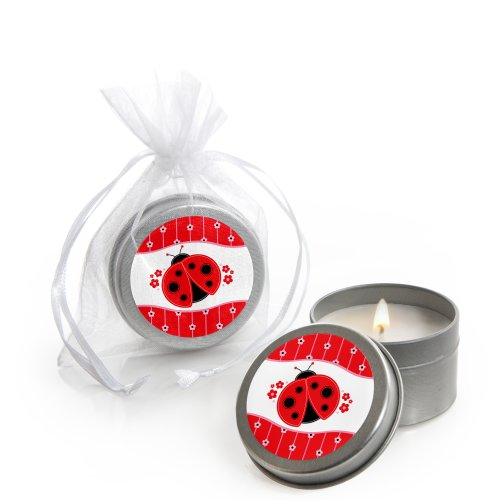 Modern Ladybug - Candle Tin Party Favors (Set Of 12) front-690670
