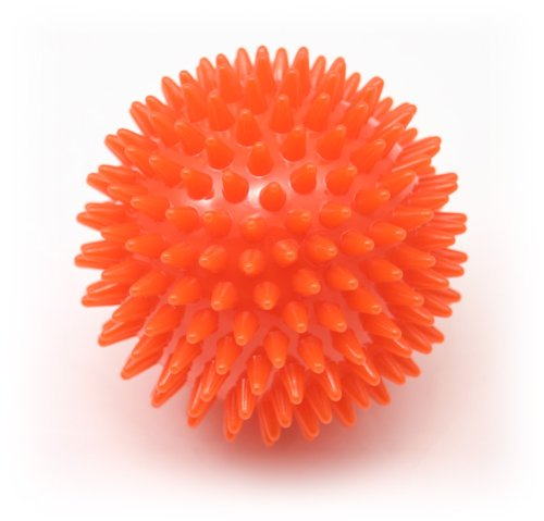 9cm Porcupine Massage Ball-Red