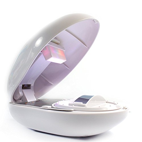 Crazy K&A Magic Romantic Rainbow Projector Led Night Light Lamp White With User Manual For Home Room Decoration